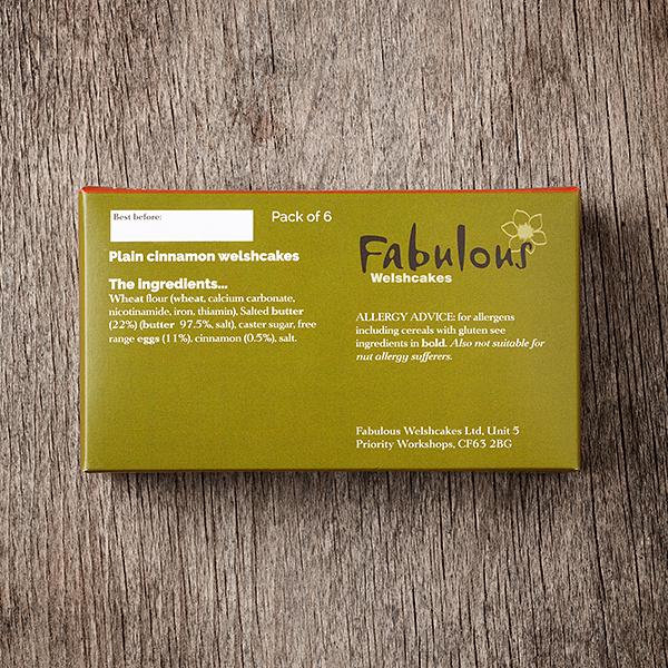 Box Ingredients Cinnamon Flavour