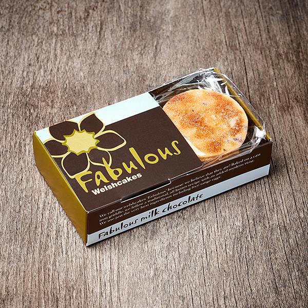 Milk Chocolate 6 pack Fabulous Welshcakes